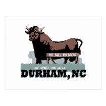 Durham NC Bull Postcard