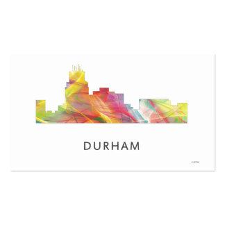 DURHAM, NTH CAROLINA SKYLINE WB1 - BUSINESS CARD