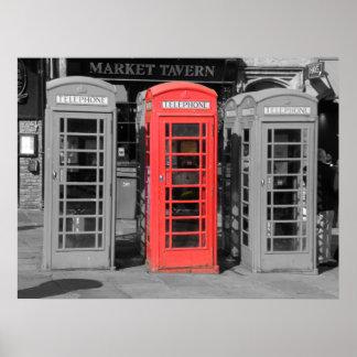 Durham Phonebox Poster