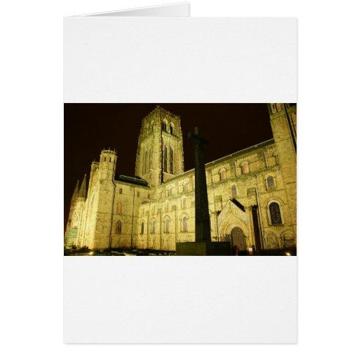 Durham por noche felicitación