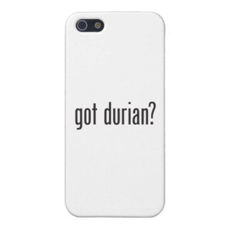 durian conseguido iPhone 5 protector