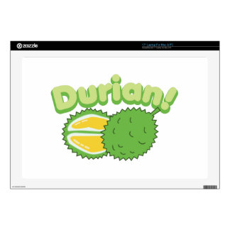 Durian Decal For Laptop