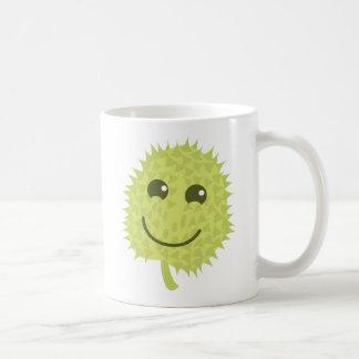 Durian feliz taza clásica