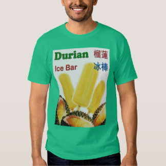 Durian Ice Bar Tropical Fruit Popsicle T Shirt