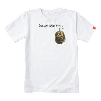 Durian Inside! Zazzle HEART T-Shirt