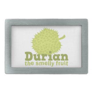 Durian la fruta hedionda (de Asia sudoriental) Hebilla Cinturón Rectangular
