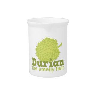 Durian la fruta hedionda de Asia sudoriental Jarrones