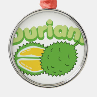 Durian Metal Ornament