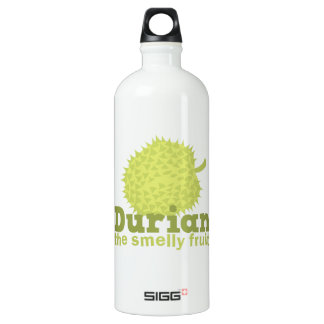 Durian the Smelly Fruit (from South east Asia) Aluminum Water Bottle