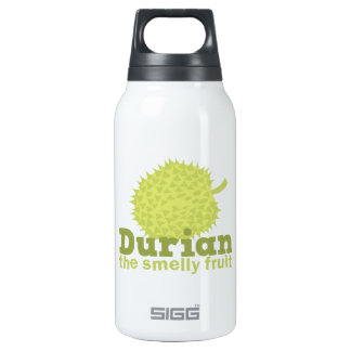 Durian the Smelly Fruit (from South east Asia) Insulated Water Bottle