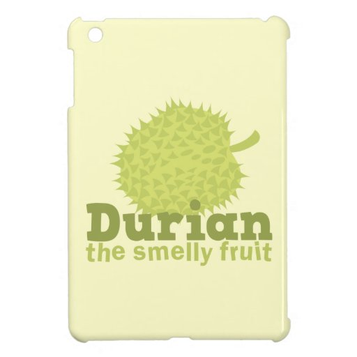 Durian the Smelly Fruit (from South east Asia) iPad Mini Cover