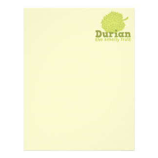 Durian the Smelly Fruit (from South east Asia) Letterhead