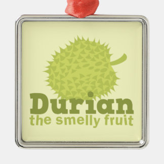 Durian the Smelly Fruit (from South east Asia) Metal Ornament