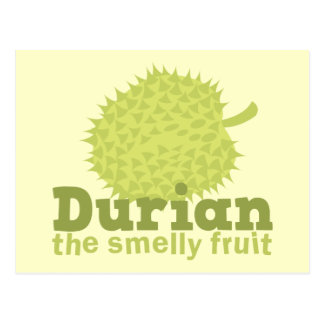 Durian the Smelly Fruit (from South east Asia) Postcard