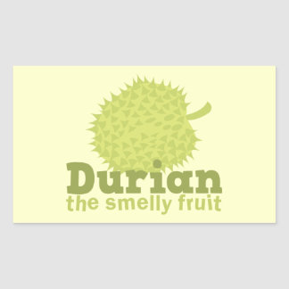 Durian the Smelly Fruit from South east Asia Stickers