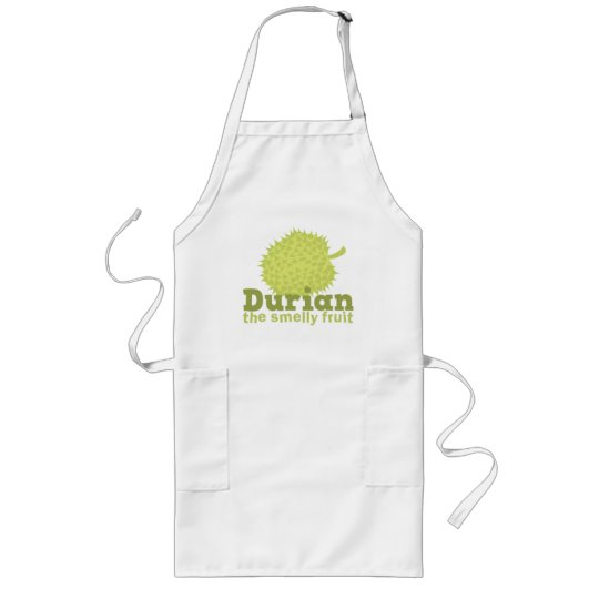 Durian the smelly fruit long apron