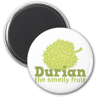 Durian the smelly fruit 2 inch round magnet