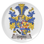 During Family Crest Plates