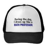 During The Day I Dress Up Like A Math Professor Hats