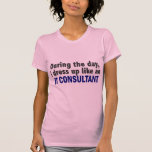 During The Day I Dress Up Like An IT Consultant Tee Shirt