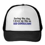During The Day I Dress Up Like An SEO Consultant Trucker Hat