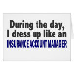 During The Day Insurance Account Manager Cards