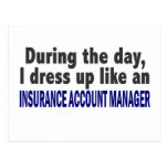 During The Day Insurance Account Manager Post Cards