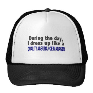 During The Day Quality Assurance Manager Mesh Hat