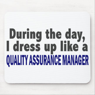 During The Day Quality Assurance Manager Mousepads