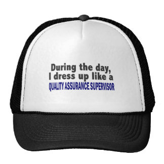 During The Day Quality Assurance Supervisor Mesh Hats