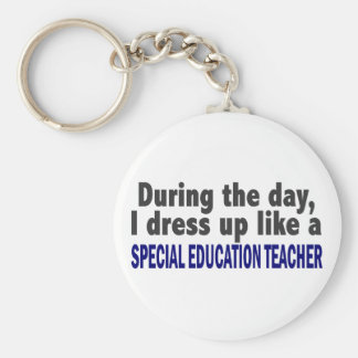 During The Day Special Education Teacher Key Chains
