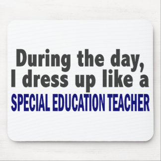 During The Day Special Education Teacher Mousepad