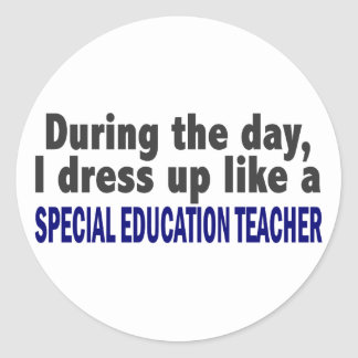 During The Day Special Education Teacher Stickers