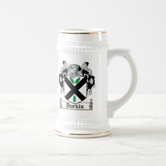 Durkin Family Crest Beer Stein