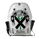 Durkin Family Crest Courier Bag