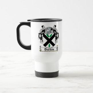 Durkin Family Crest Travel Mug