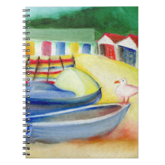 Durley Chine Seagull 2012 Spiral Notebook