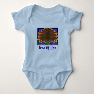 Durmiente del niño del árbol de Spacey Camisas