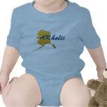 Durmiente holic del bebé de AK Camiseta