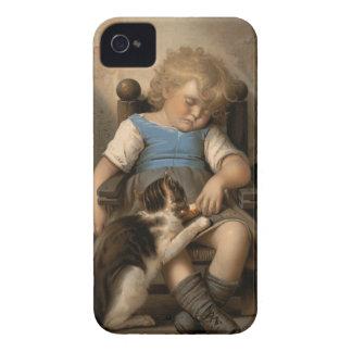 Durmiente inconsciente iPhone 4 Case-Mate funda