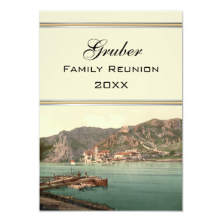 Dürnstein, Austria Family Reunion 5x7 Paper Invitation Card