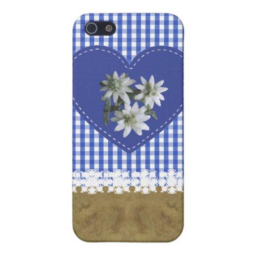 Duro cubierto de tela de JeansOnBlue - de Speck® F iPhone 5 Funda