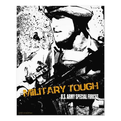 Duro militar fotografias
