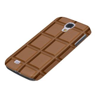 duro vivo de HTC del chocolate dulce Funda Para Galaxy S4