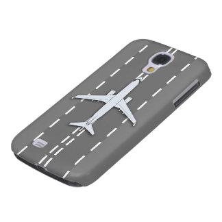 duro vivo del vintage FR-13 HTC del avión Funda Para Galaxy S4