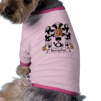 Durocher Family Crest Doggie Shirt