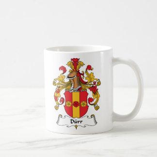 Durr Family Crest Mugs