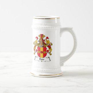 Durr Family Crest Coffee Mug