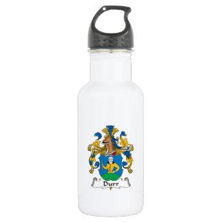 Durr Family Crest 18oz Water Bottle