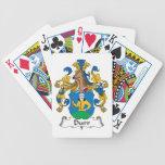 Durr Family Crest Poker Cards